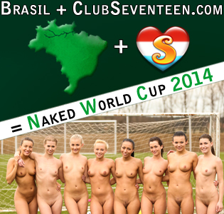 Naked World Cup 2014